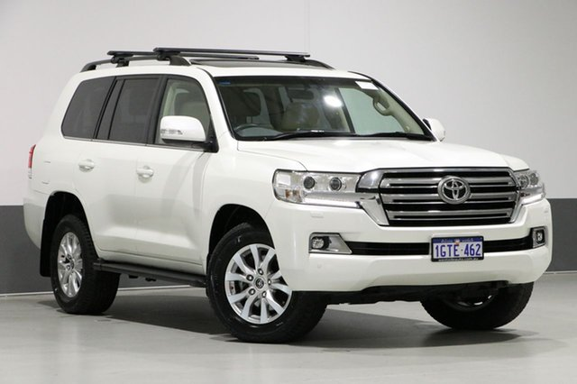 Used Toyota Landcruiser VDJ200R MY16 VX (4x4), 2016 Toyota Landcruiser VDJ200R MY16 VX (4x4) Crystal Pearl 6 Speed Automatic Wagon