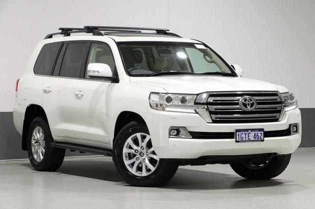 Used Toyota Landcruiser VDJ200R MY16 VX (4x4), 2016 Toyota Landcruiser VDJ200R MY16 VX (4x4) Crystal Pearl 6 Speed Automatic Wagon