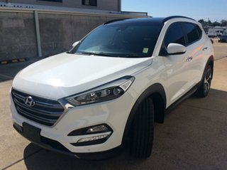 2015 Hyundai Tucson TLE Highlander AWD White 6 Speed Sports Automatic Wagon