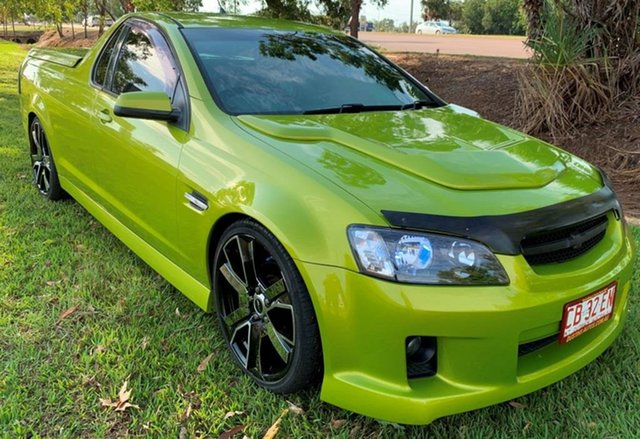 Used Holden Ute VE SV6, 2008 Holden Ute VE SV6 Green 5 Speed Automatic Utility
