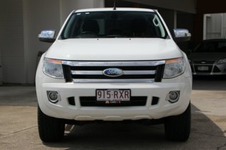 2011 Ford Ranger PX XL Double Cab White 6 Speed Manual Utility