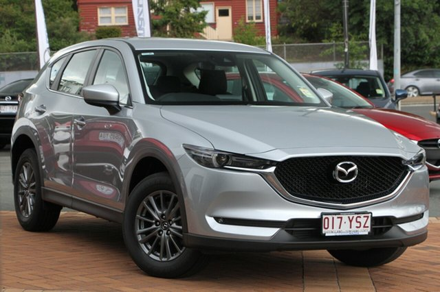 Demo Mazda CX-5 KF4W2A Maxx SKYACTIV-Drive i-ACTIV AWD Sport, 2018 Mazda CX-5 KF4W2A Maxx SKYACTIV-Drive i-ACTIV AWD Sport Sonic Silver 6 Speed Sports Automatic