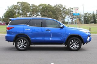 2016 Toyota Fortuner Crusade Blue Automatic Wagon.