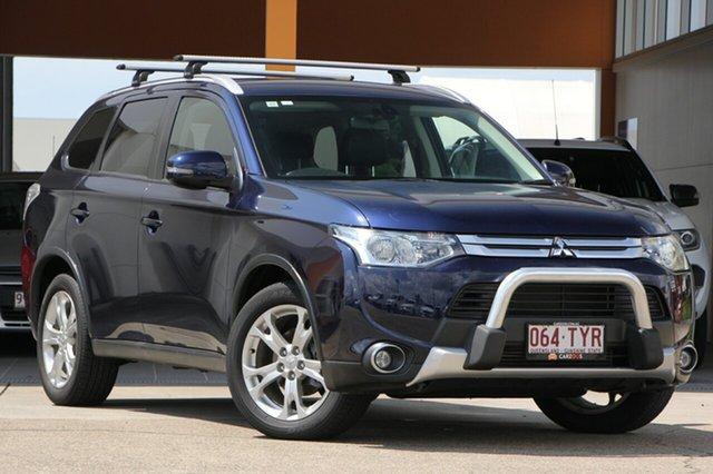 Used Mitsubishi Outlander ZJ MY14.5 LS 4WD, 2014 Mitsubishi Outlander ZJ MY14.5 LS 4WD Blue 6 Speed Sports Automatic Wagon
