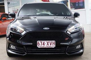 2016 Ford Focus LZ ST Black 6 Speed Manual Hatchback.