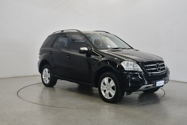 Used Mercedes-Benz ML280 CDI W164 MY09 , 2009 Mercedes-Benz ML280 CDI W164 MY09 Black 7 Speed Sports Automatic Wagon