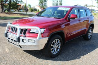 2013 Jeep Grand Cherokee Laredo Red Sports Automatic Wagon.