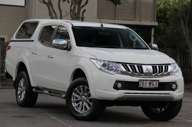Used Mitsubishi Triton MQ MY16 GLS Double Cab, 2016 Mitsubishi Triton MQ MY16 GLS Double Cab White 5 Speed Sports Automatic Utility