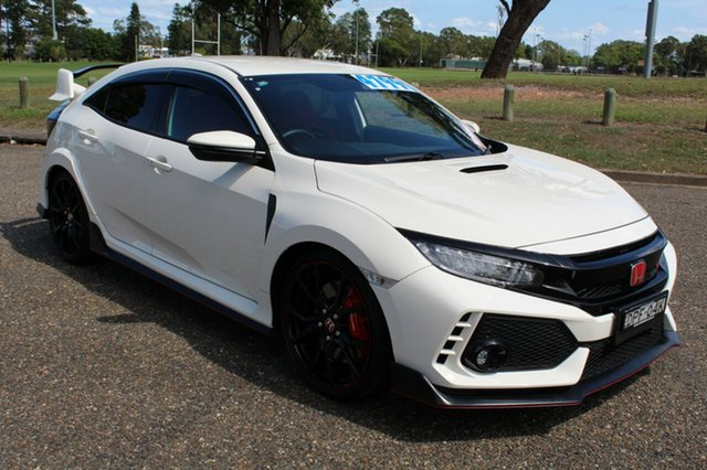 Used Honda Civic 10th Gen MY17 Type R, 2017 Honda Civic 10th Gen MY17 Type R White 6 Speed Manual Hatchback