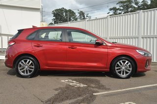 2017 Hyundai i30 PD MY18 Active D-CT Red 7 Speed Sports Automatic Dual Clutch Hatchback.