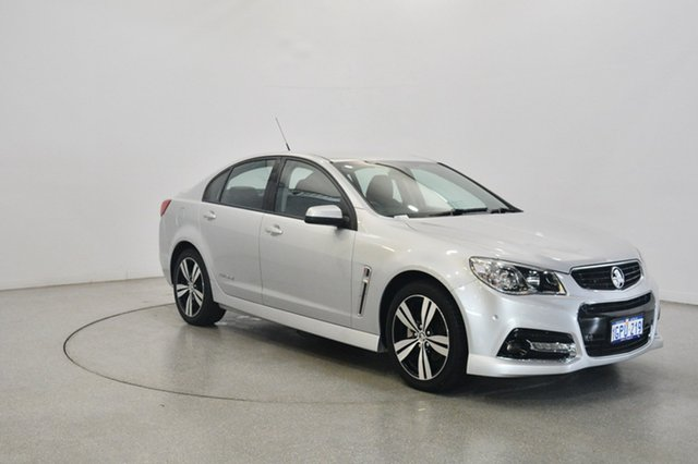 Used Holden Commodore VF MY14 SV6 Storm, 2014 Holden Commodore VF MY14 SV6 Storm Silver 6 Speed Sports Automatic Sedan