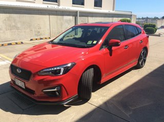2018 Subaru Impreza G5 MY18 S-Edition CVT AWD Pure Red/leath 7 Speed Constant Variable Hatchback
