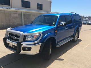 2010 Ford Ranger PK XLT Crew Cab Blue 5 Speed Manual Utility