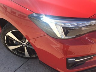 2018 Subaru Impreza G5 MY18 S-Edition CVT AWD Pure Red/leath 7 Speed Constant Variable Hatchback.