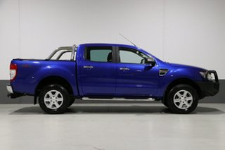 2014 Ford Ranger PX XLT 3.2 (4x4) Blue 6 Speed Automatic Dual Cab Utility