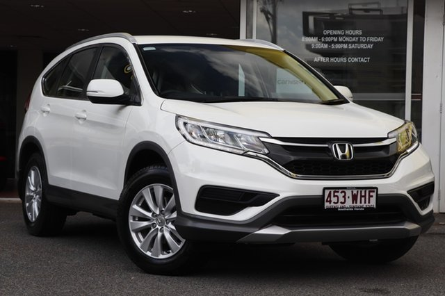 Used Honda CR-V RM Series II MY17 VTi, 2016 Honda CR-V RM Series II MY17 VTi White 5 Speed Automatic Wagon