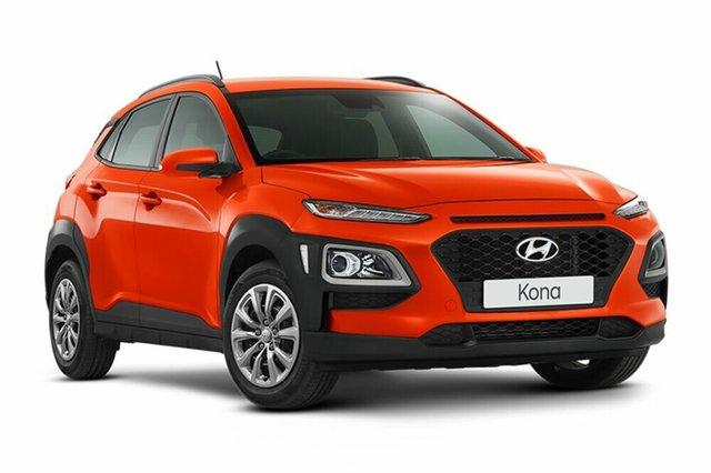 Demo Hyundai Kona OS.2 MY19 Go 2WD, 2018 Hyundai Kona OS.2 MY19 Go 2WD Tangerine Comet 6 Speed Sports Automatic Wagon
