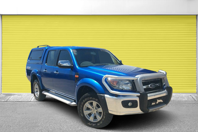 Used Ford Ranger PK XLT Crew Cab, 2010 Ford Ranger PK XLT Crew Cab Blue 5 Speed Manual Utility