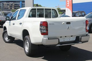 2019 Mitsubishi Triton MR MY19 GLX (4x4) White 6 Speed Manual Double Cab Pickup.