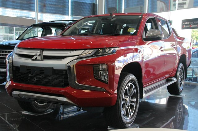 New Mitsubishi Triton MR MY19 GLS Double Cab, 2019 Mitsubishi Triton MR MY19 GLS Double Cab Red 6 Speed Sports Automatic Utility