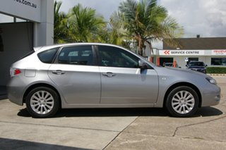 2008 Subaru Impreza G3 MY08 RS AWD Silver 5 Speed Manual Hatchback.