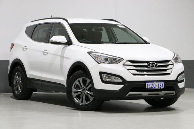 Used Hyundai Santa Fe DM MY15 Active CRDi (4x4), 2014 Hyundai Santa Fe DM MY15 Active CRDi (4x4) White 6 Speed Automatic Wagon