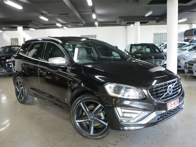 Used Volvo XC60 DZ MY16 D5 Geartronic AWD R-Design, 2016 Volvo XC60 DZ MY16 D5 Geartronic AWD R-Design Black 6 Speed Sports Automatic Wagon