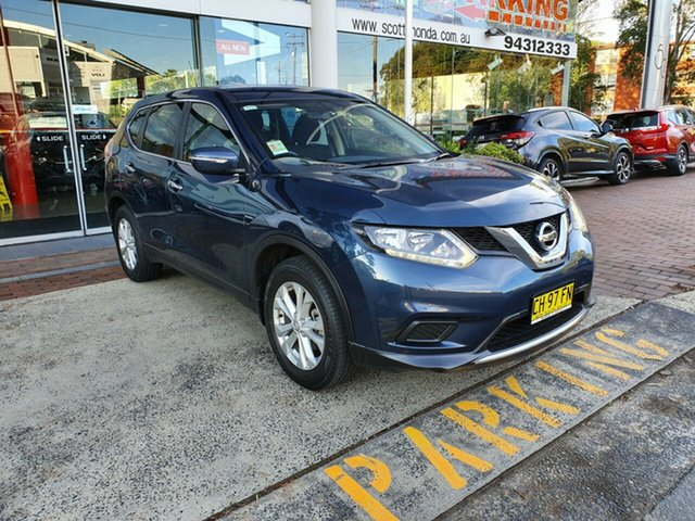 Used Nissan X-Trail T32 ST X-tronic 2WD, 2016 Nissan X-Trail T32 ST X-tronic 2WD Blue 7 Speed Constant Variable Wagon