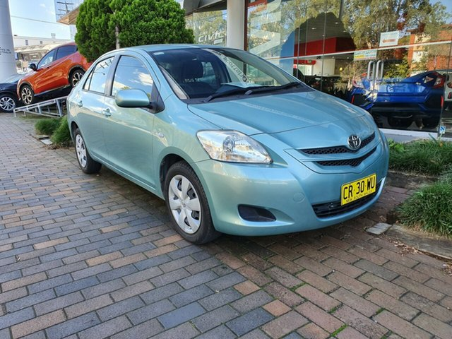 Used Toyota Yaris NCP93R YRS, 2006 Toyota Yaris NCP93R YRS Blue 4 Speed Automatic Sedan