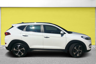 2015 Hyundai Tucson TLE Highlander AWD White 6 Speed Sports Automatic Wagon.