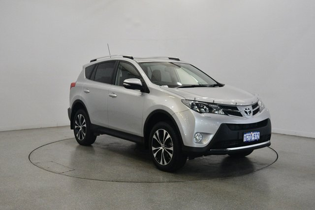 Used Toyota RAV4 ASA44R MY14 Cruiser AWD, 2015 Toyota RAV4 ASA44R MY14 Cruiser AWD Silver 6 Speed Sports Automatic Wagon
