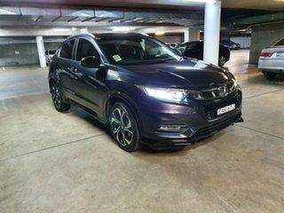 2018 Honda HR-V MY18 HRV 5A RS WAGON MY18 Ruse Black Wagon.