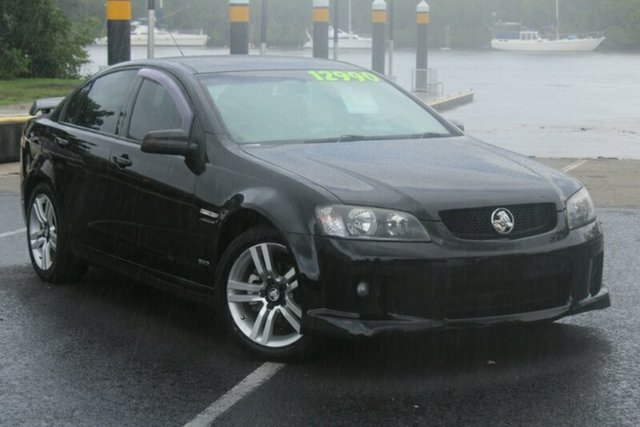 Used Holden Commodore VE MY10 SV6, 2010 Holden Commodore VE MY10 SV6 Black 6 Speed Manual Sedan