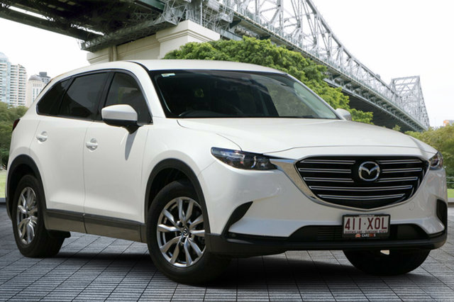 Used Mazda CX-9 TC Touring SKYACTIV-Drive, 2017 Mazda CX-9 TC Touring SKYACTIV-Drive White 6 Speed Sports Automatic Wagon