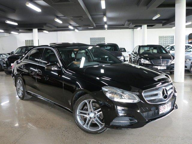 Used Mercedes-Benz E-Class W212 805MY E200 7G-Tronic +, 2014 Mercedes-Benz E-Class W212 805MY E200 7G-Tronic + Black 7 Speed Sports Automatic Sedan