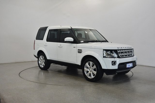 Used Land Rover Discovery Series 4 L319 MY14 SCV6 HSE, 2014 Land Rover Discovery Series 4 L319 MY14 SCV6 HSE White 8 Speed Sports Automatic Wagon