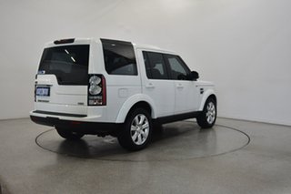 2014 Land Rover Discovery Series 4 L319 MY14 SCV6 HSE White 8 Speed Sports Automatic Wagon