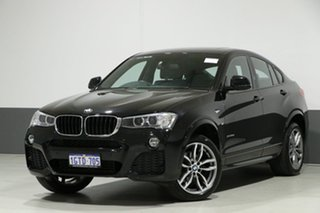 2016 BMW X4 F26 MY16 xDrive 20D Black 8 Speed Automatic Coupe.