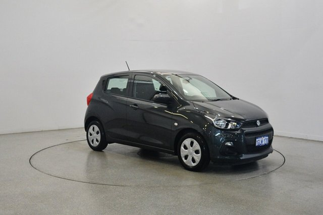 Used Holden Spark MP MY18 LS, 2017 Holden Spark MP MY18 LS Dark Grey 1 Speed Constant Variable Hatchback