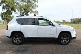 2014 Jeep Compass North White Sports Automatic Wagon.