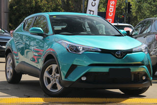2018 Toyota C-HR NGX10R S-CVT 2WD Green 7 Speed Constant Variable Wagon