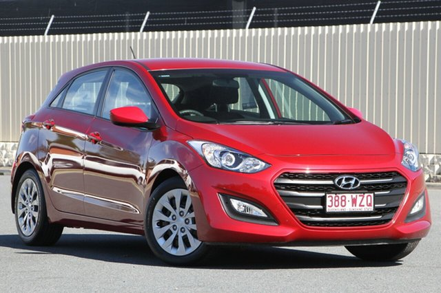 Used Hyundai i30 GD4 Series II MY17 Active, 2016 Hyundai i30 GD4 Series II MY17 Active Red 6 Speed Sports Automatic Hatchback