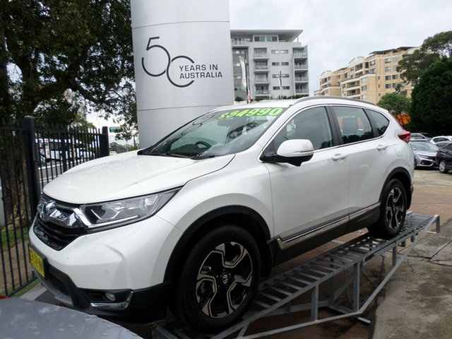 Used Honda CR-V RW MY18 VTi-S 4WD, 2018 Honda CR-V RW MY18 VTi-S 4WD White 1 Speed Constant Variable Wagon
