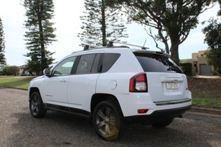 2014 Jeep Compass North White Sports Automatic Wagon