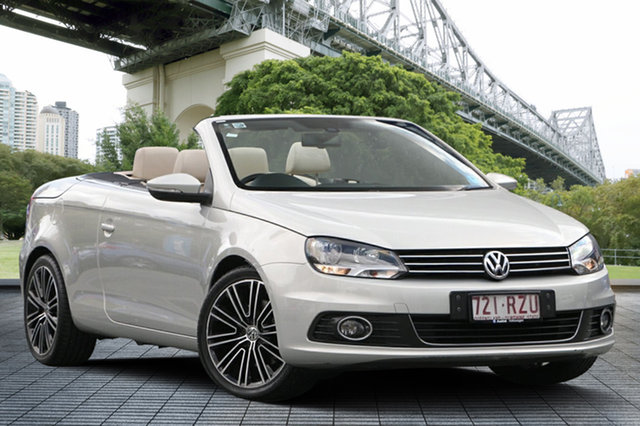 Used Volkswagen EOS  , 1F MY11 103TDI CONVERTIBLE 2DR DSG 6SP 2.0DT