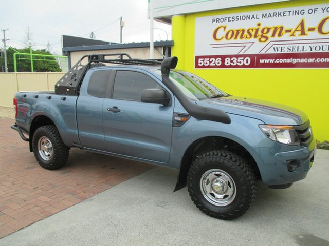 Used Ford Ranger PX XL Super Cab, 2015 Ford Ranger PX XL Super Cab Blue 6 Speed Manual Utility