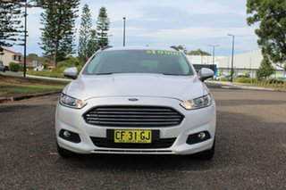 2015 Ford Mondeo Ambiente White Platinum Tri-Coat Sports Automatic Wagon