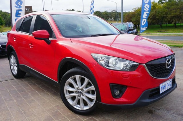 Used Mazda CX-5 KE1021 Grand Touring SKYACTIV-Drive AWD, 2012 Mazda CX-5 KE1021 Grand Touring SKYACTIV-Drive AWD Red 6 Speed Sports Automatic Wagon