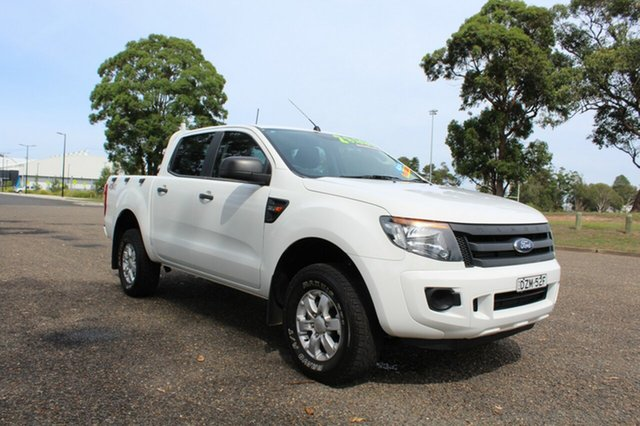 Used Ford Ranger  XL, 2015 Ford Ranger XL White Sports Automatic Dual Cab Utility