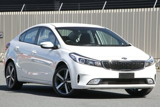 2017 Kia Cerato YD MY17 Sport White 6 Speed Sports Automatic Sedan.